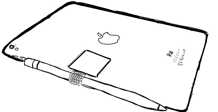 Apple iPad Pro, Apple Pencil