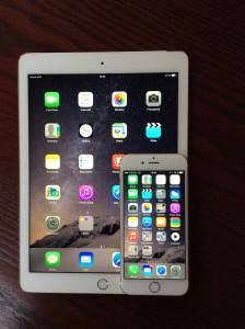 Apple iPad Air 2 & iPhone 6