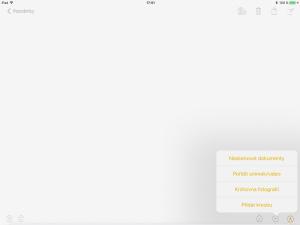 iOS 11 Poznámky, Notes