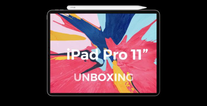 iPad Pro (2018) Unboxing na poslední chvíli