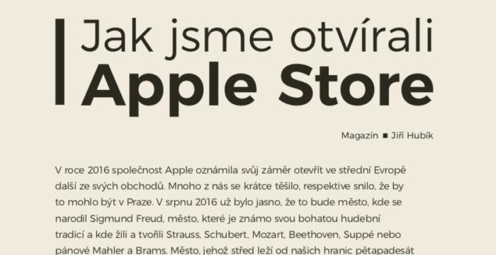 Jak jsme otevírali Apple Store