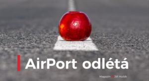 AirPort odlétá