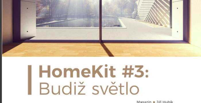 HomeKit #3: Budiž světlo