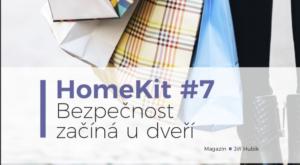 HomeKit #7: Bezpečnost začíná u dveří