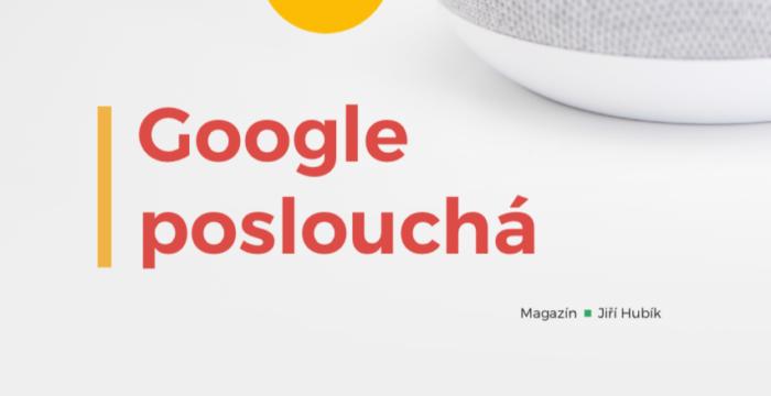 Google poslouchá, Jiří Hubík, iConsultant